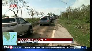 Slow going for those returning to Marco Island - Video
