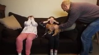New Puppy Surprise Sends Kids Bursting Into Tears - Video