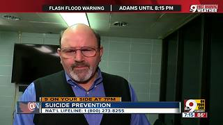 Expert discusses suicide prevention