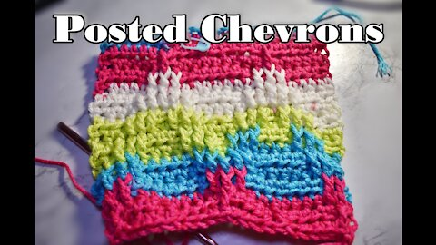 How to Crochet the Posted Chevron Stitch