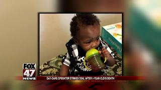 Day-care operator strikes deal after 1-year-old's death - Video