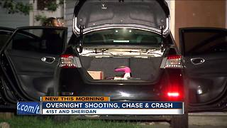 Milwaukee Police: 3 arrested after overnight shooting, chase, crash - Video