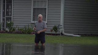 Major Flooding Near Cape Coral Homes - Video