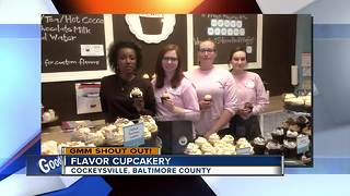 Good morning from Flavor Cupcakery - Video