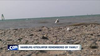 Hamburg Kitesurfer remembered by family and community