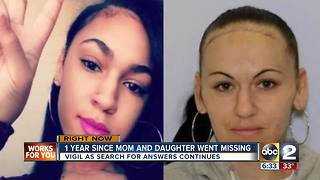 Missing mother and daughter