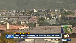 California 'exodus' shown in new census numbers - Video