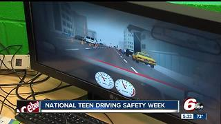 Driving simulation course helps teens learn to drive safely in Zionsville - Video