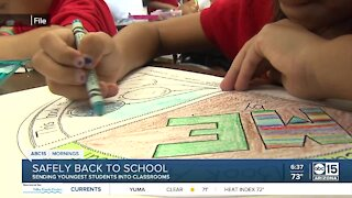Push to bring younger students back first as in-person learning restarts