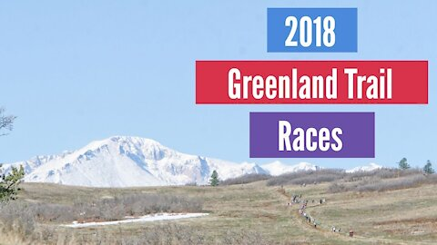 2018 Greenland Trail Races