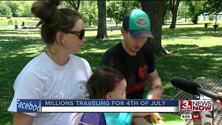 Record travel expected for holiday weekend - Video