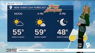 Cold snap continues through New Year's Day