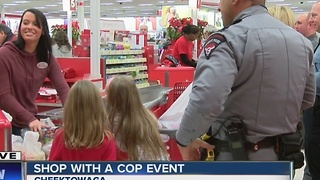 Shop with a cop event - Video