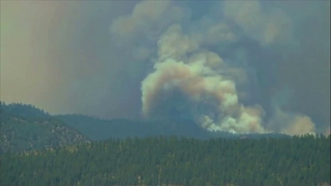Colorado Wildfire Continues With Rain Unlikely Until Weekend