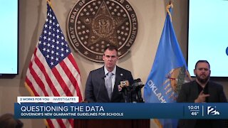 Questions about data cited in state's new quarantine policy