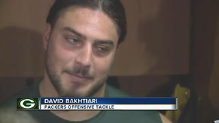 Packers Linemen battling - Video