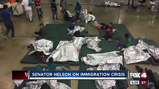 U.S. Senator Bill Nelson speaks on the country's immigration crisis - Video