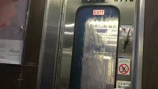 Rain Pours Inside Long Island Rail Road Car - Video