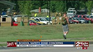 Parents raising concerns about school safety zone