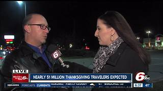 AAA: Nearly 51 million travelers expected for Thanksgiving