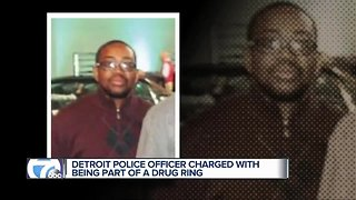 Detroit police officer indicted for participation in drug conspiracy