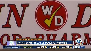 Deli potato wedges sold at Winn-Dixie recalled - Video