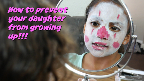 Is your daughter growing up to fast?