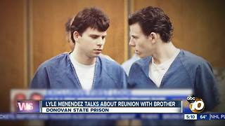 Menendez brothers reunited in prison