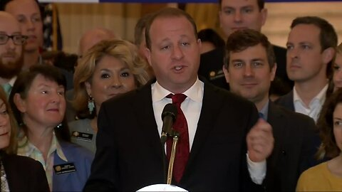 Gov. Polis, House and Senate Democrats host end-of-session news conference