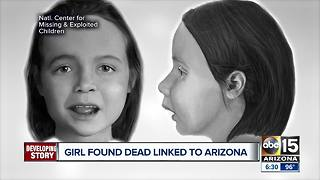 Young girl found dead in Texas possibly linked to Arizona - Video