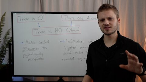 There is 'Q' and there are 'Anons', but THERE IS NO 'QANON'