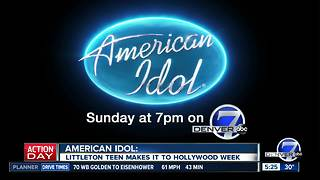 Littleton teen on American Idol talks about what it's like being in Hollywood
