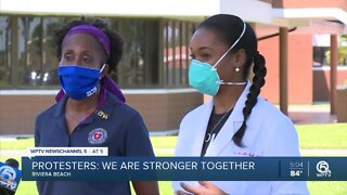 Riviera Beach protesters urge 'equality and unity'