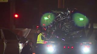Fatal crash closes intersection in North Las Vegas - Video