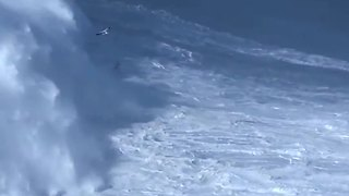 Brazilian Sets World Record For Biggest Wave Ever Surfed