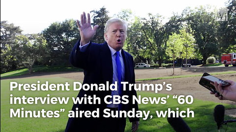 CBS Radically Twists Trump Quote, Then Their Own Video Proves They're Frauds