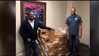 Sherwin-Williams donates 5K N-95 masks to healthcare workers in Nevada
