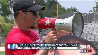 Tommy Bohanon hosts 3rd annual youth football camp