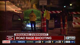 Man shot during road rage incident | Breaking news - Video
