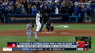 Dodgers and Astros push for a win in Game 7 - Video