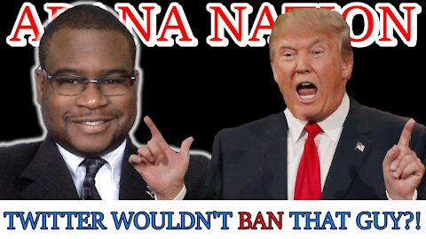 Twitter Bans Trump, But Not THIS GUY??!! | ARANA NATION