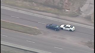 End of KCMO, KCK police chase - Video