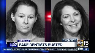 Women accused of posing as dentists in Glendale arrested - Video