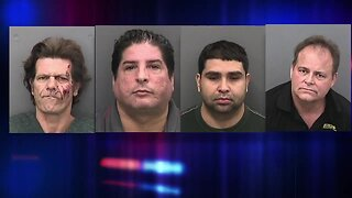 Men arrested in Hillsborough Co. for sending sexually explicit texts to undercover deputies posing as teens