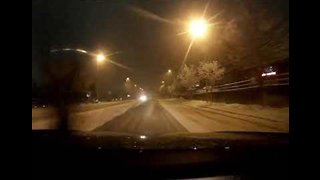 Bellevue Streets Covered in White after 'Snowmageddon'