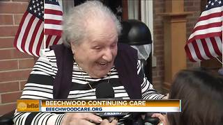 Celebrating Veterans Day with Beechwood Continuing Care