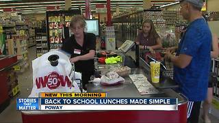 Back to school lunches made simple - Video