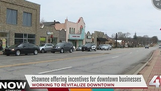 Shawnee offers incentives for downtown businesses - Video