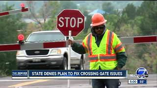 State denies plan to fix crossing gate issues - Video