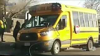 Mother describes seeing bus video of daughter with special needs being 'pinned down' by staff